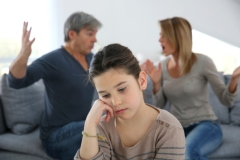 Die Trennungsrate ist bei Familien, in denen ein Elternteil AHDS hat, sehr hoch