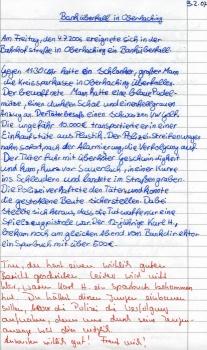 neurofeedback handwriting samples left essay written in 2006 before neurofeedback training right essay written in 2007 neurofeedback